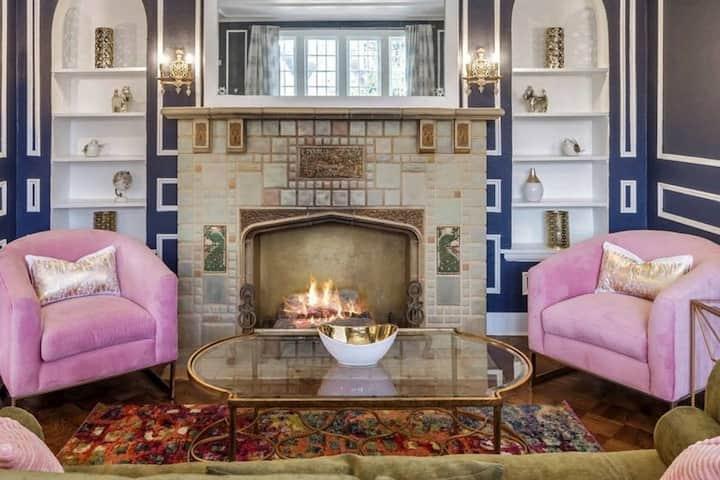Capitol Library-historic elegance, cool & comfy