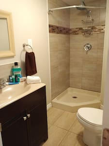 Private Apartment lower level near Toronto Airport