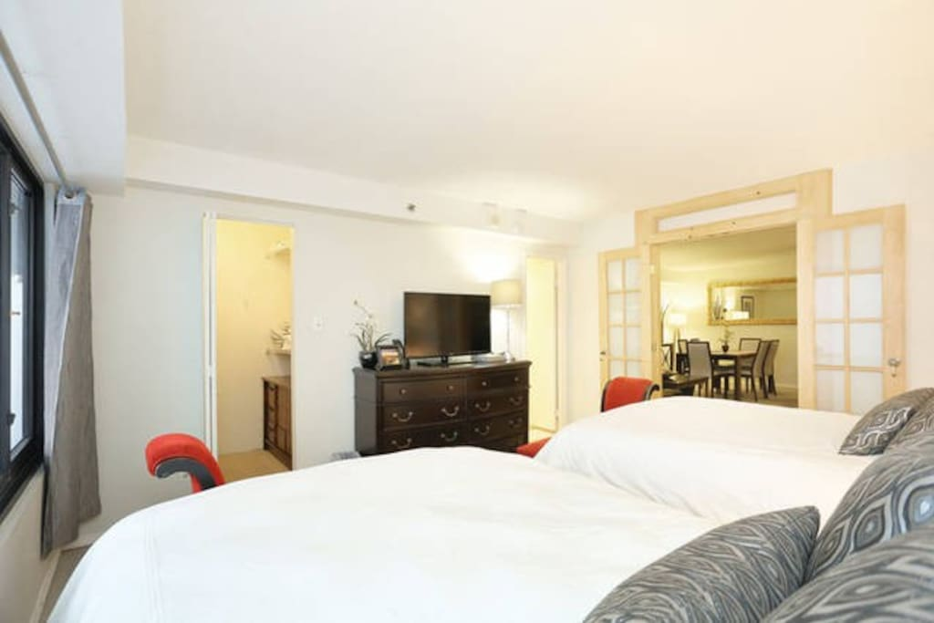 Cozy and elegantly designed spacious suites.