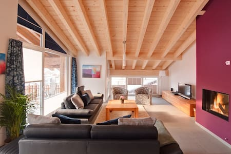 Powdersnow Loft - Matterhorn views, sleeps 6-7 - Zermatt