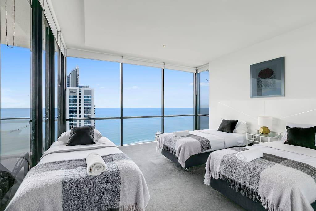 Bedroom with gorgeous views