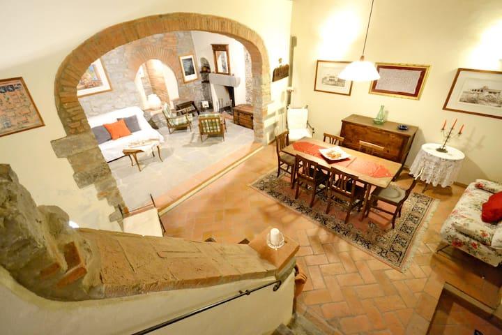 Casa Franci typical tuscan house in Cortona center - คอร์โทนา - อพาร์ทเมนท์