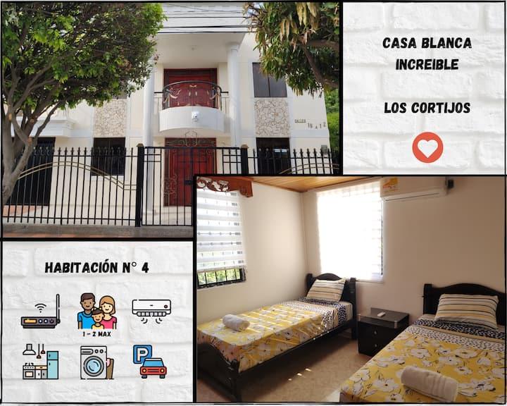 Casa Blanca Increíble! Habitación N°4, Cortijos.