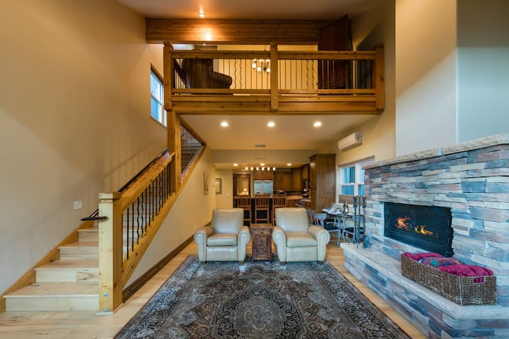 Custom Ski Home within Steps of Main Street - By PADZU