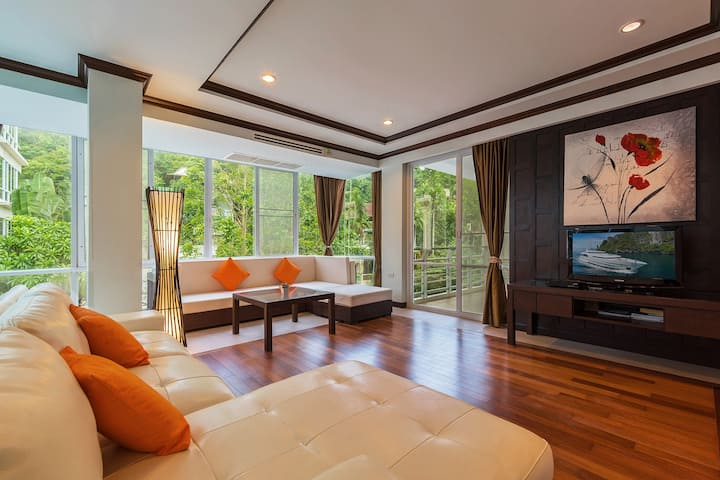 Our fantastic huge apartment in Karon Beach