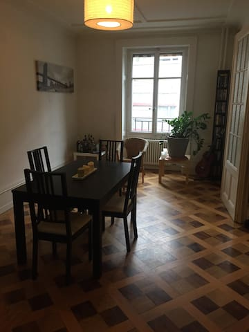 Quiet room in very central location - Genève - Apartment