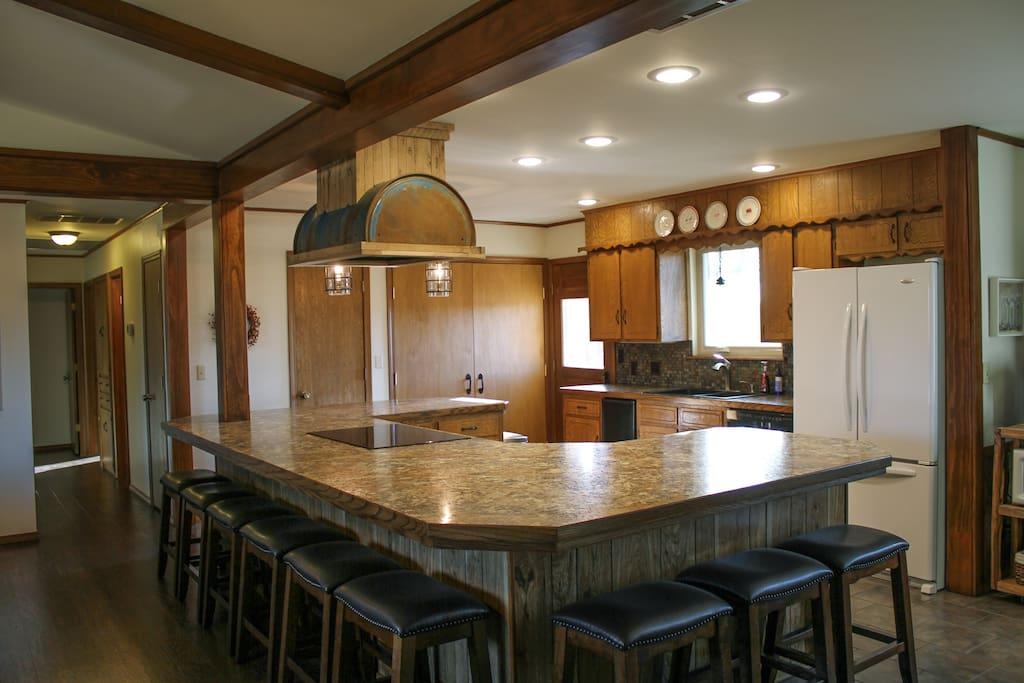 Kitchen and Bar - 12 stools