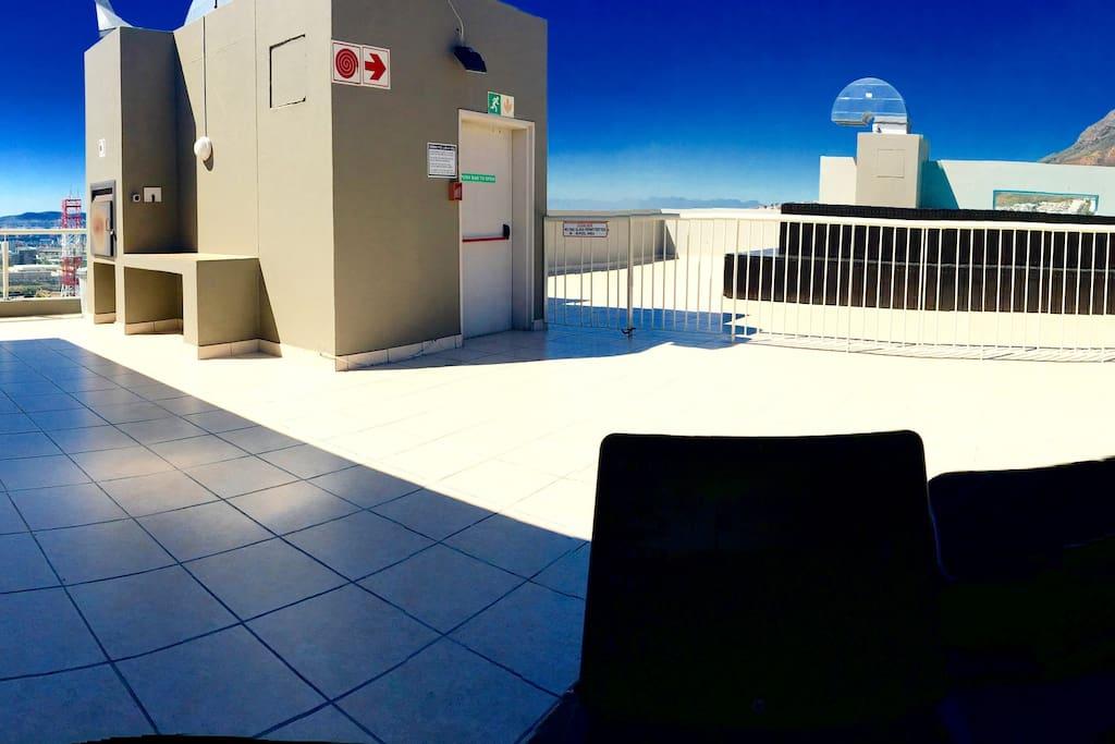 Rooftop braai.