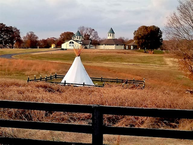 Cherokee South Tipi at Starstruck Farm!