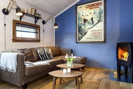 Cosy and modern cabin in Hemsedal ski resort.