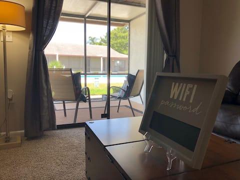 Villa Design 2: POOL! Self Check-in; WiFi