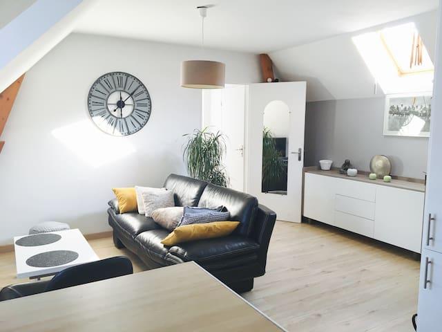 Bel appartement cosy au sein d'une résidence calme - Brie-Comte-Robert - Huoneisto