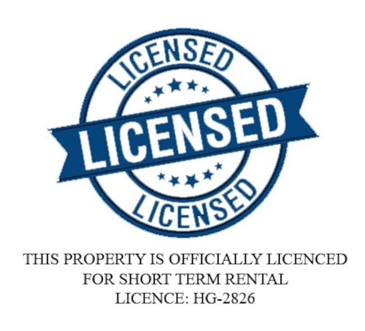 Official Licence for short term rental