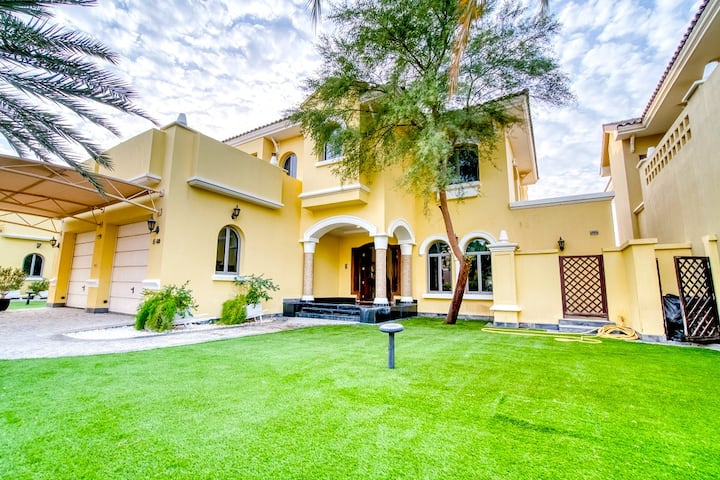 Modern Family Villa on The Palm - 5+1 bedrooms