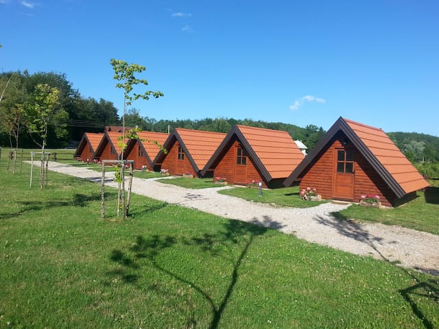 Bungalow Three Eco Camp Rizvan City - Rizvanuša - Bungalow