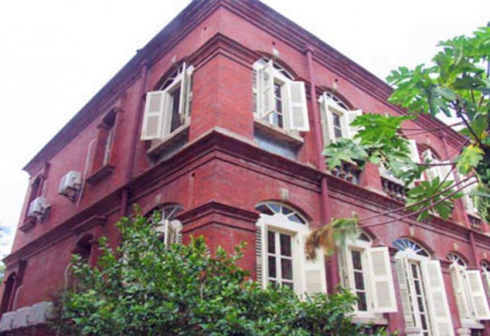厦门鼓浪屿岛上最古老的别墅  感受历史痕迹