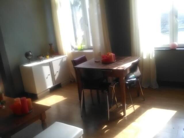 Agréable appartement vue sur Meuse