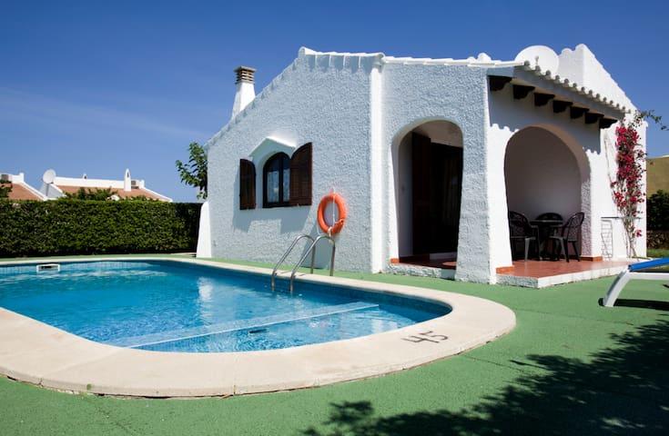 Bonito Chalet tipico menorquin - Ciudadela de Menorca - Huis
