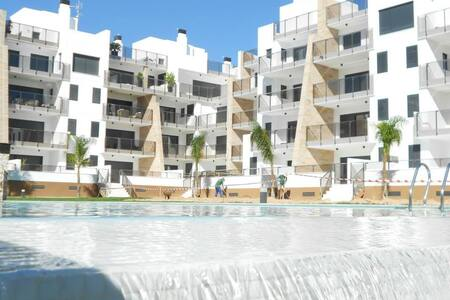 DELUX SEA VIEW APARTMENT WITH A ROOF TERRACE - Orihuela