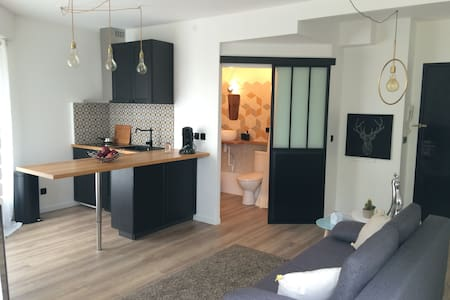 Studio neuf cocooning avec jardin à 20 mn de Paris - Lejlighed