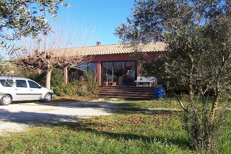 prox montpellier gde maison entre mer et campagne - Villeneuve-lès-Maguelone - House