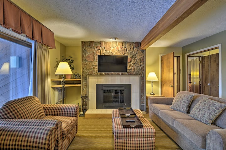 NEW! Cozy Shanty Creek Condo for Skiers & Golfers!