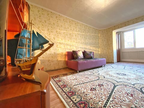 Sea view 2 rooms apartment with private entrance