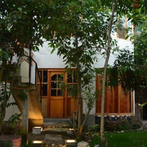 Colibrí Eco Lodge, Cabaña de Madera