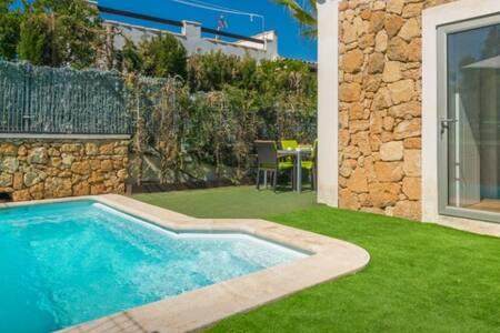 Adosado en son serra de marina con piscina privada