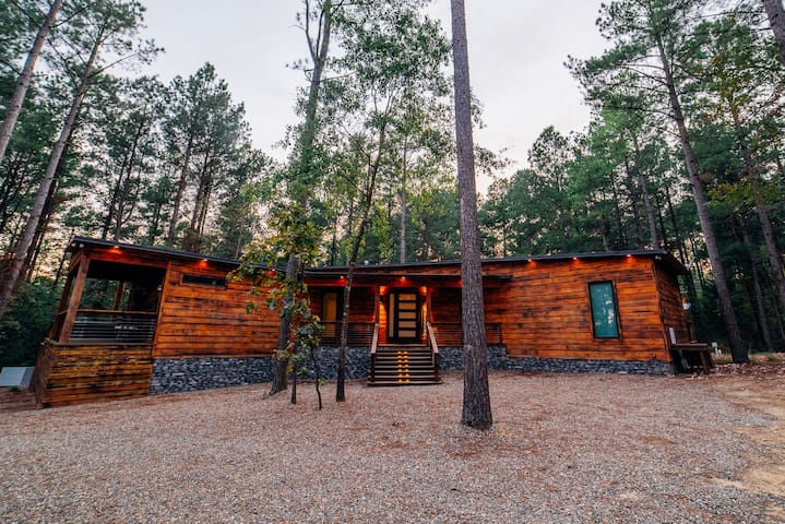 Charred Pine Luxury Cabin