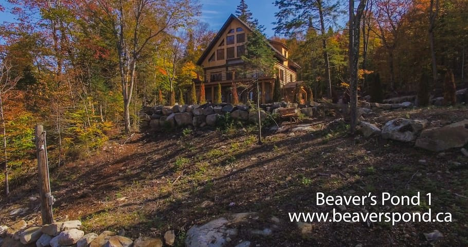 BEAVERS POND I, amazing waterfront view - Wentworth-Nord - Chalet