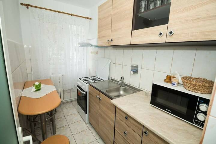 Apartment STAR- 1 bedroom , 5 min walk to beach