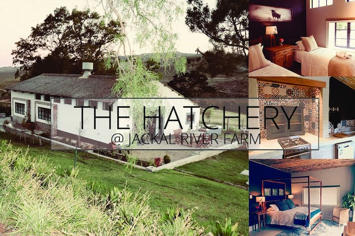 The Hatchery - Luxury Cottages @ Jackal River Farm