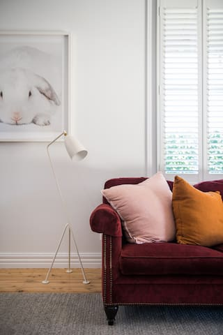 A sofa to sink into