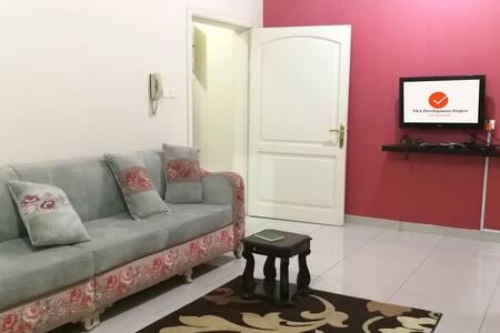 شقة ٣ غرف للايجار الشهري