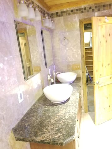 Downstairs Full Bath (during renovation)