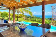 Terrace, swimming pool