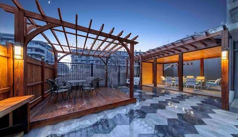 茗悦山房*雅趣   室外140平大庭院休闲度假两居