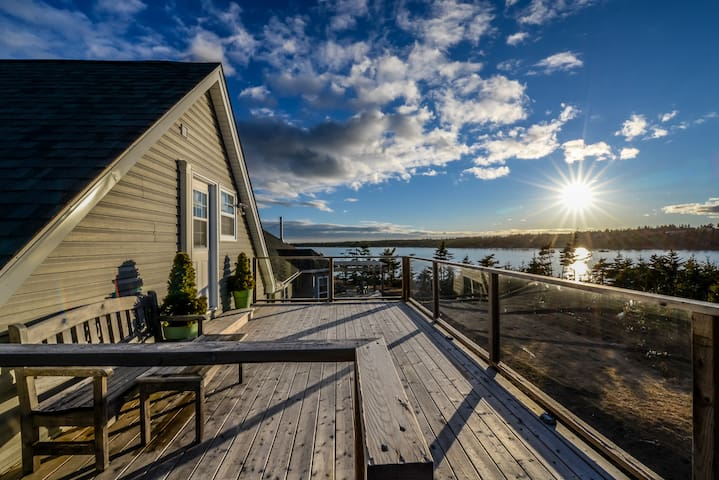 The Bothy, Ocean views, offering Yoga & Massage - Seaforth - Loftlakás