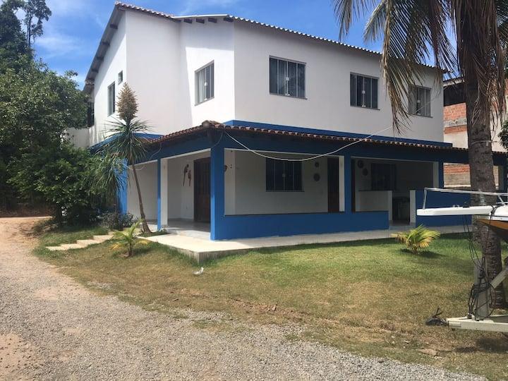 Casa dona Jura. Ponta dos Castelhanos  Anchieta ES