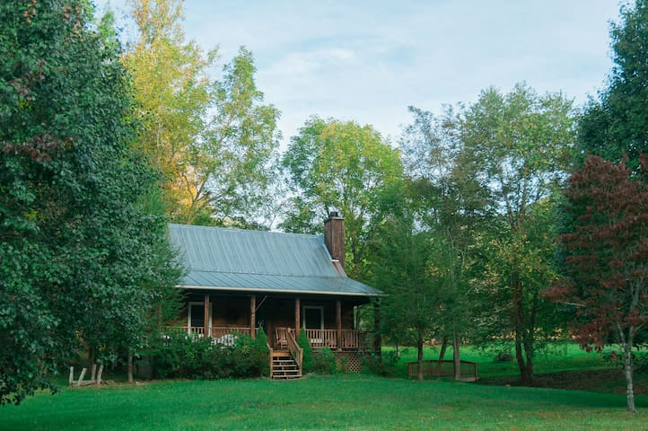 Peaceful north Asheville cottage by the creek