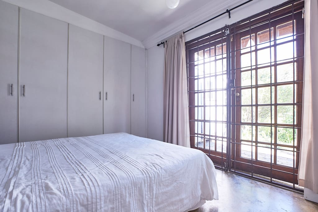 Main Bedroom with ample fitted cupboard space.