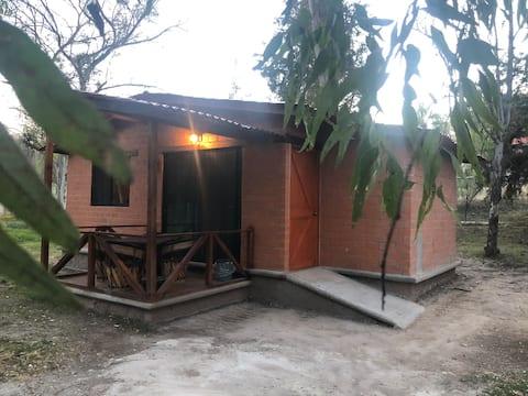 Cabaña Bandera con capacidad para 6 o 7 personas