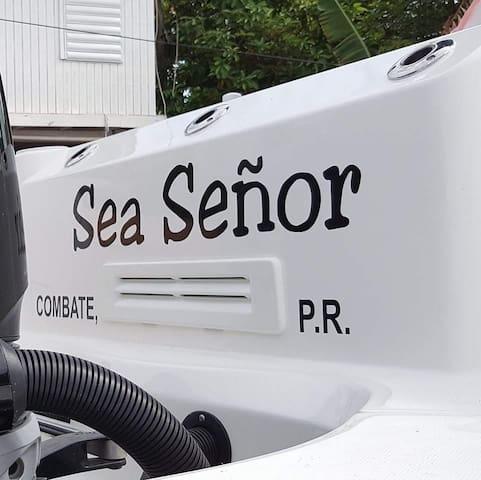 Sea Señor Charters - Combate - Boquerón - Barco