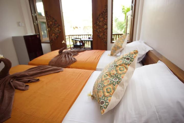 Dreamy Double Room in Ubud - Ubud - Departamento