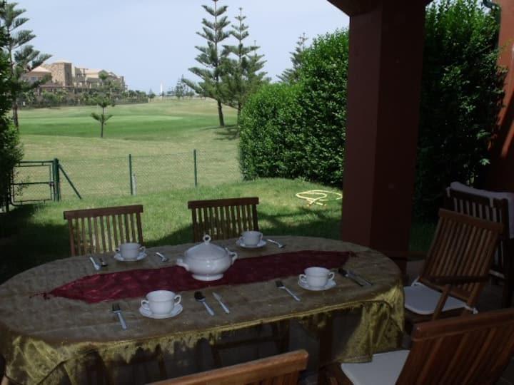Costa Ballena, golf, vistas y playas atlánticas