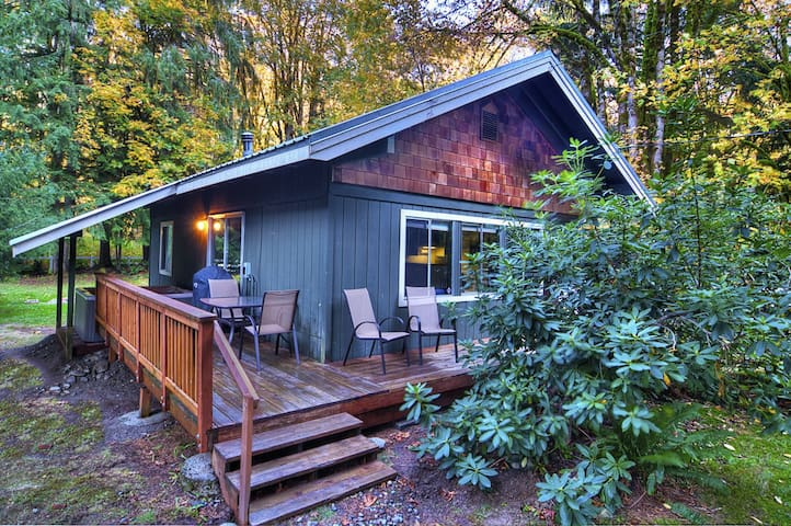 Cute Mtn Bungalow w Hot Tub, WiFi, Netflix, Firepit, 20 Min to Stevens! 10% OFF!