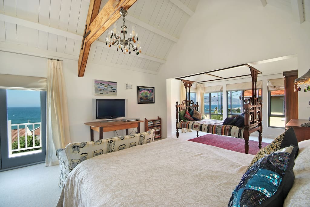Main bedroom with gorgeous views.