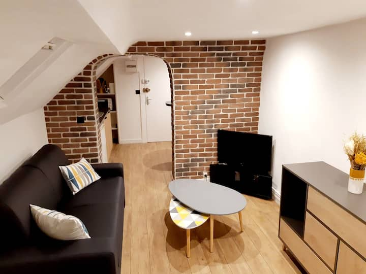 ¤ studio cosy sous les toits ¤