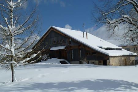 Appartement dans  ferme comtoise Haut Doubs - Grand'Combe-Châteleu - Apartmen